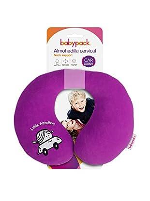 Babyauto Nackenkissen aubergine
