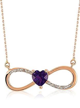 Divas Diamond Halskette Diamond Amethyst Infinity