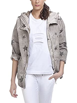Tantra Jacke Print Star With Sequins Hood
