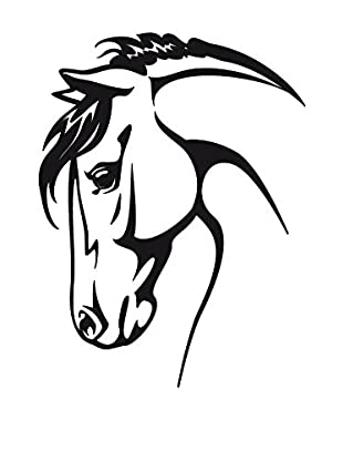 Ambiance Sticker Wandtattoo Horse Head