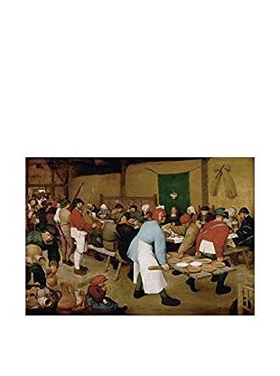 Artopweb Panel Decorativo Brueghel Bauernhochzeit