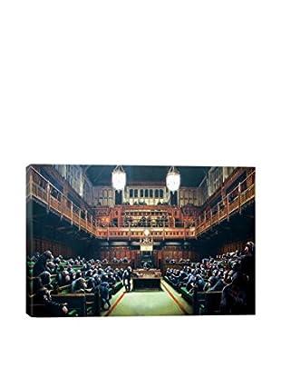 Banksy Monkey Parliament Giclée On Canvas