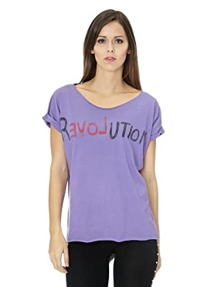 Free for Humanity T-Shirt Revolution (Lila)