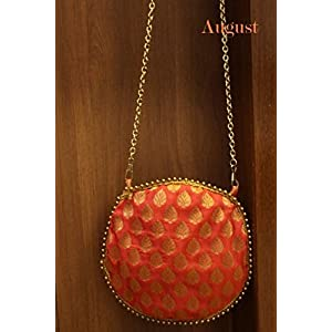 August by Ritu Cipy Circular Pochette Bag