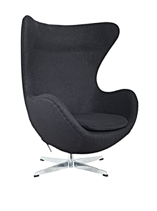 Manhattan Living Fabric Inner Chair, Gray