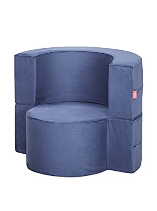 Best seller living Sillón Puff Mini Macaron Azul