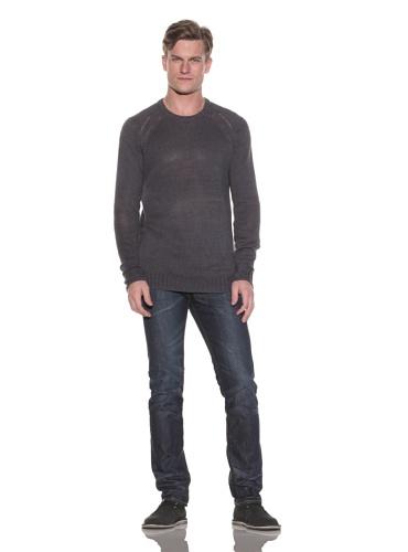 Gypsy 05 Men's Belmont Knit Crewneck Sweater (Charcoal)
