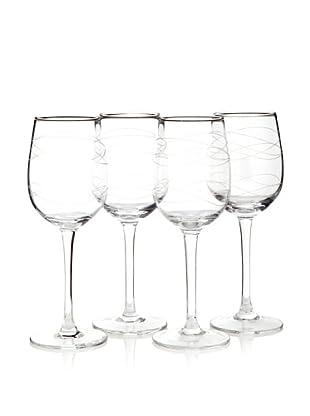 Artland Set of 4 Currents Wine Glasses