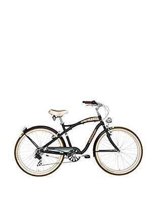 Cicli Adriatica Bicicleta Cruiser Alu Negro