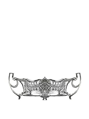 Dessau Home Embossed Centerpiece (Antiqued Silver)