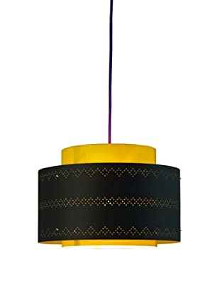 Control Brand Venlo Black/Yellow Pendant Lamp
