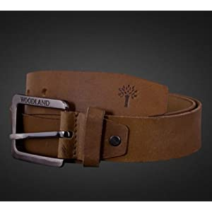 Woodland - Men's Belt - BT 1012 - Camel