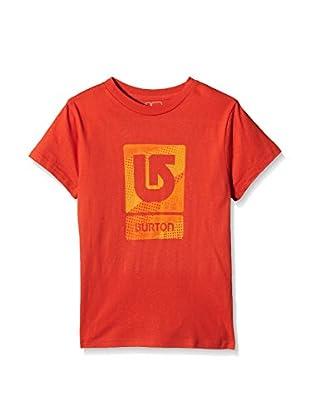 Burton Camiseta Manga Corta Lg Vert Fll Fiery