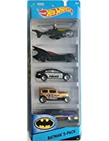 Hot Wheels - 5 Cars pack Batman 5