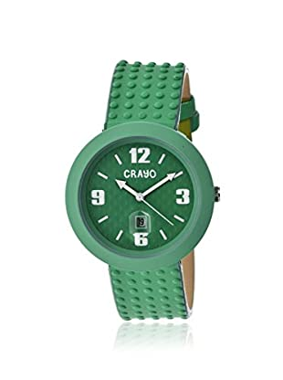 Crayo Women's CRACR1806 Jazz Teal Leather Watch