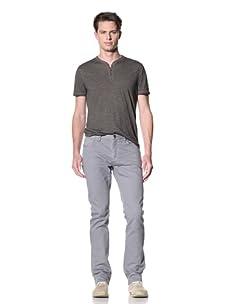 John Varvatos Star USA Men's Garment Dyed Jean (Flagstone)