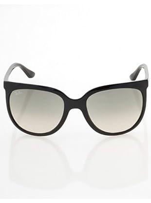 RayBan 4126 Damen Accessoires/ Sonnenbrillen (Schwarz/Weiß/Grau)