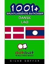 1001+ grundlæggende sætninger dansk - Lao