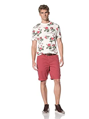 Under 2 Flags Men's Woven Shorts (True Red)