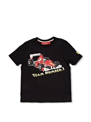 Ferrari Camiseta No. 1 (Negro)
