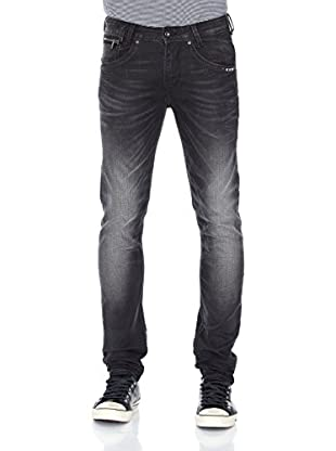 Pepe Jeans London Vaquero Tenbury (Gris Oscuro)