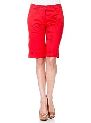Cortefiel Bermudahose (Rot)