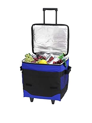 Picnic at Ascot 60 Can Collapsible Rolling Cooler