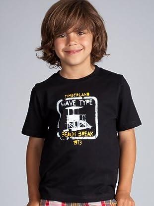 Timberland Camiseta (Negro)