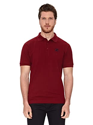 Polo Club Polo Custom Fit Logo Small (Granate)