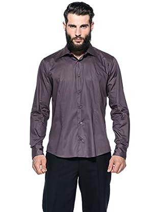 Romeo Gigli Milano Camisa (Morado Oscuro)