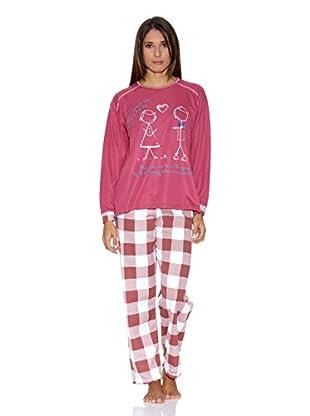 Kumy Pijama Muñecos (Fucsia)