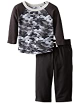 Gerber Graduates Baby and Little Boys Infant Long Sleeve Top and Pant Set