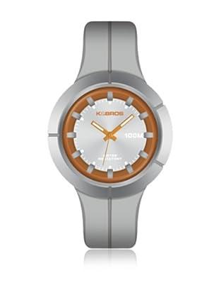 K&BROS Reloj 9573 (Gris / Naranja)