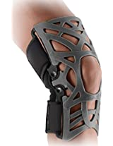 DonJoy Reaction WEB Knee Support Brace with Compression Undersleeve: Grey, XXX-Large