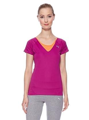PUMA T-Shirt Tp Fitness (wild aster)