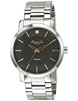 Kenneth Cole Analog Grey Dial Men's Watch - IKC9328