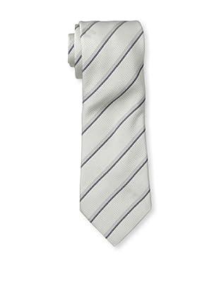 Dunhill Men's Double Diagonal Tie, Light Grey