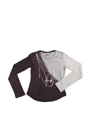 Diesel Junior Camiseta Talon (Negro/Gris)