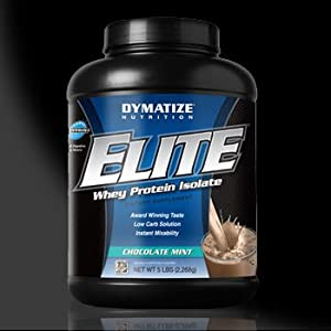 Dymatize Elite Whey Protein Isolate-Male