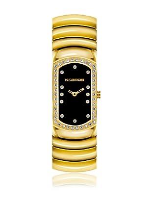 K&Bros  Reloj 9168 (Negro / Dorado)