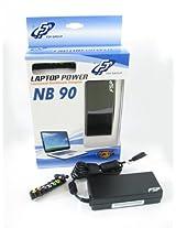 FSP NB 90 UNIVERSAL Notebook Adapter 90W 19V NB90 10xMINI PLUG