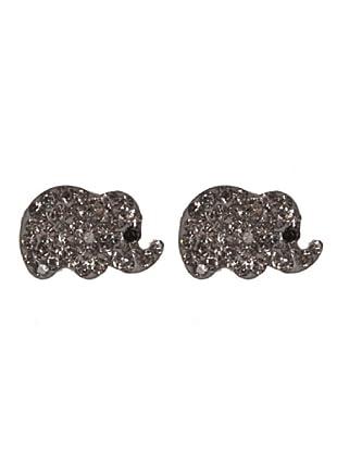 Cordoba Joyeros Pendientes Elefante de la Suerte