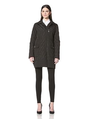 Calvin Klein Women's Quilted Jacket (Black)