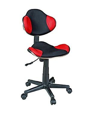 Manhattan Office Bürostuhl Lawyer A29 rot/schwarz