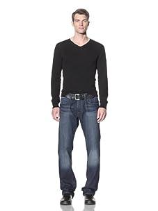 William Rast Men's Jake Regular Straight Leg Jean (Top Man)