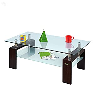 Classic Center Table With Honey Brown Contemporary Finish by Indian Furniture Products Limited - Zuari - DS