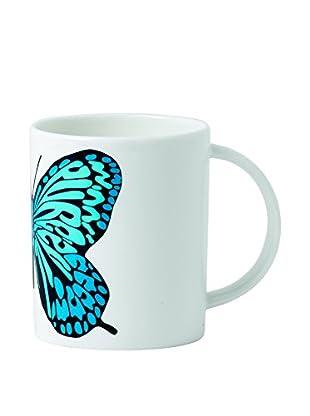 Royal Doulton Street Art Pure Evil Neon Butterfly 12-Oz. Mug