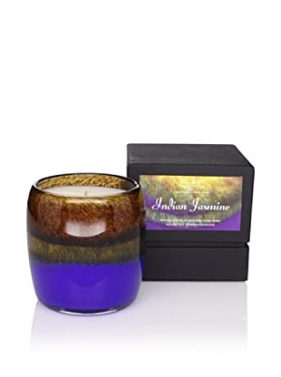 D.L. & Co. Indian Jasmine Artisanal Glass Candle