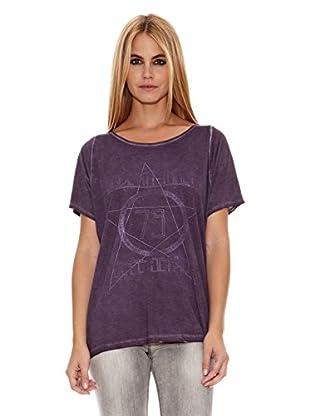 Pepe Jeans London Camiseta Savile (Morado Oscuro)