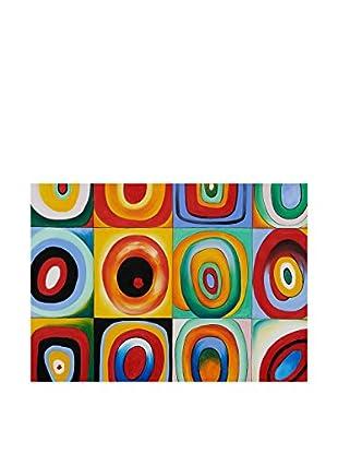 LegendArte  Wandbild Farben von Vassily Kandinsky